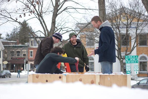 Flurry: Snow Sculpture Event, Woodstock