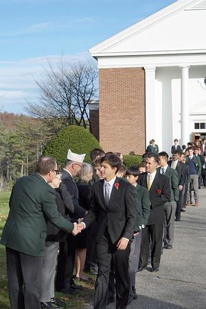 Veterans Day Chapel Service