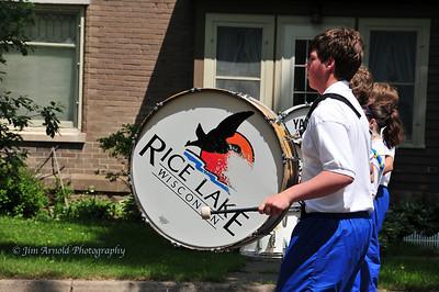 Rice Lake (WI) Aquafest Parade (2008)