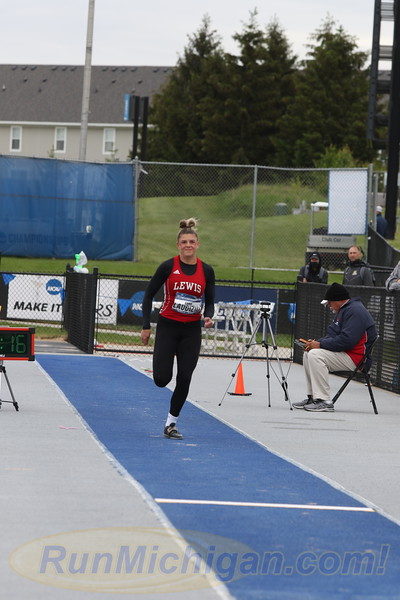 Triple Jump Women - 2021 NCAA Division II Outdoor Track & Field Championships