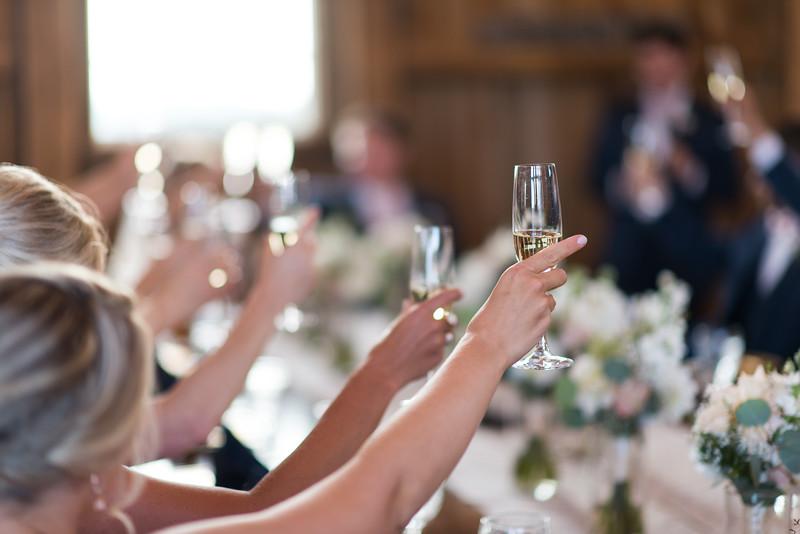 Andrea & Eric's Wedding - Toast after best man speech