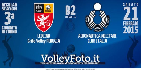 Ledlink Perugia - Aeronautica Militare Club Italia