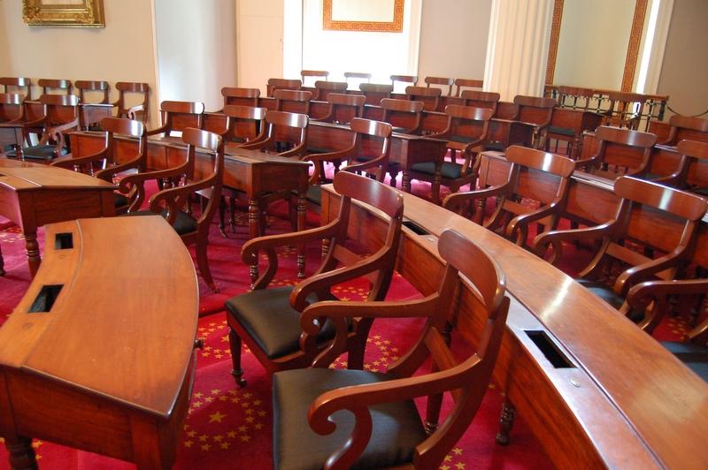 in the legislature