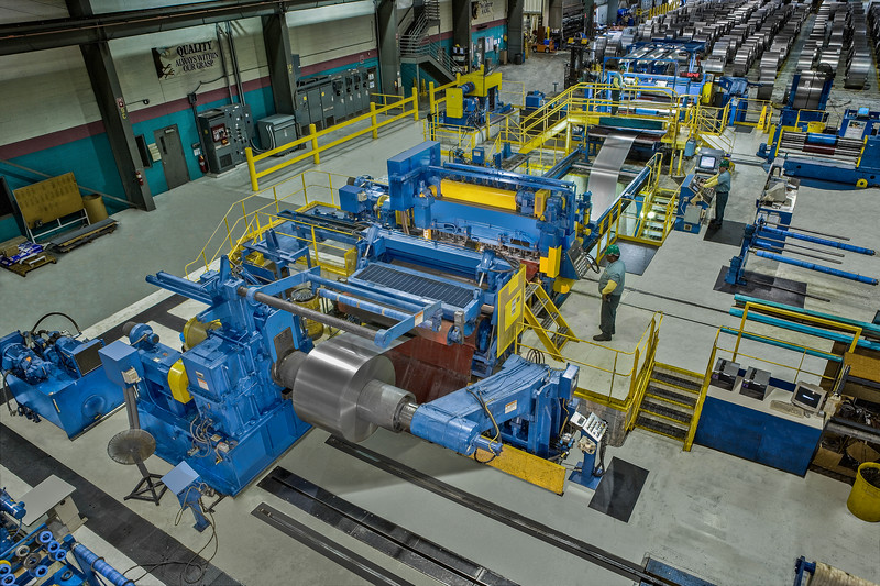 Stamco Coil Slitting Line.