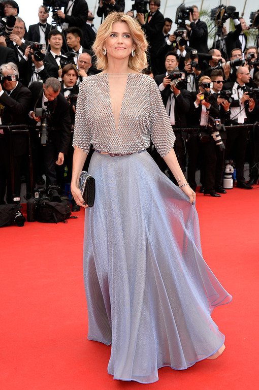 """. Actress Alice Taglioni attends the Opening ceremony and the \""""Grace of Monaco\"""" Premiere during the 67th Annual Cannes Film Festival on May 14, 2014 in Cannes, France.  (Photo by Pascal Le Segretain/Getty Images)"""