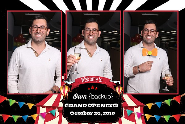 Own BACKUP Grand Opening