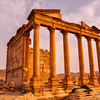 Ancient temple of Palmyra, Syria