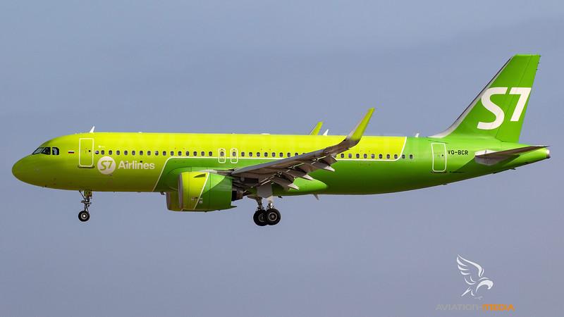 S7 / Airbus A320-271N / VQ-BCR