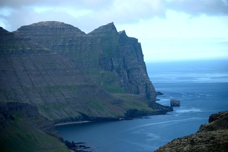 Horft yfir Hornvík.