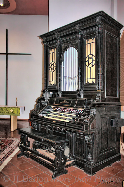 Kotykiewicz organ, United Methodist Church, Vienna, Austria