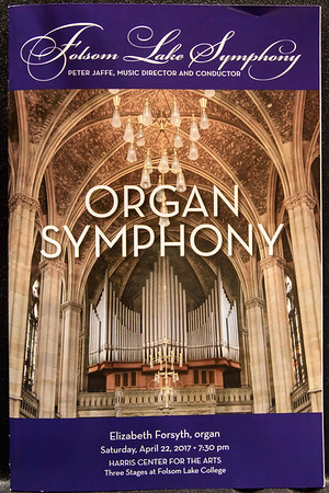 Organ Symphony - April 22, 2017