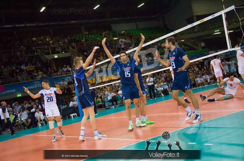 l'Italia esulta - Italia-Iran, World League 2013 - Modena