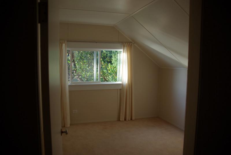 Upstairs - west bedroom.