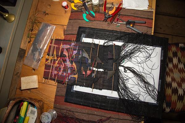 David's studio