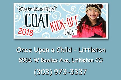 Once Upon a Child - Coat Kick-Off - September 15, 2018