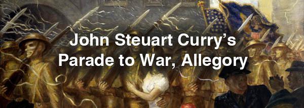 John Steuart Curry (American, 1897 - 1946), Parade to War, Allegory, 1938, copy.jpg