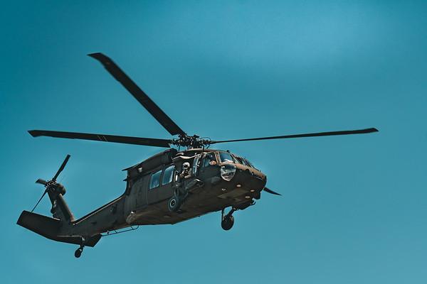 UH-60 Blackhawk Visits TWHS
