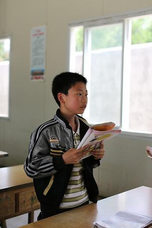 Louguantai - school