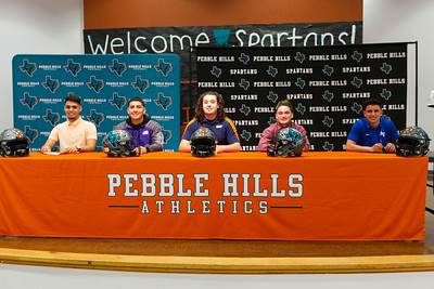 Pebble Hills High School National Signing Day