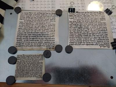 Mezuzah Examining