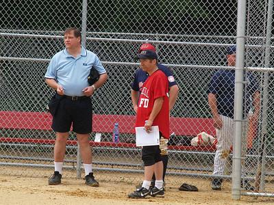 Oradell FD vs Westwood FD Softball