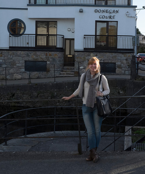 Molly says goodbye to her warm Galway home.