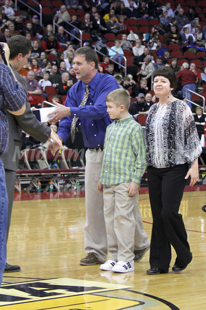 Boys Basketball, Awards at Wells Fargo Arena