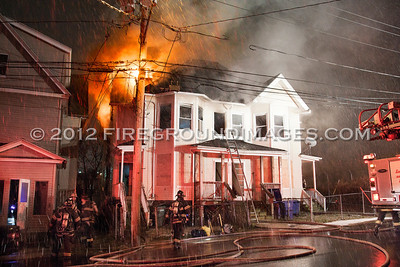 George St. Fire (Bridgeport, CT) 12/24/12