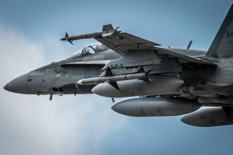 CF-18 HORNET, QRA 2018, COMOX, RCAF