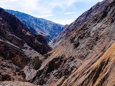 Lamayura - landscape and monastery