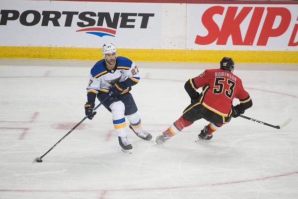 Flames vs Blues