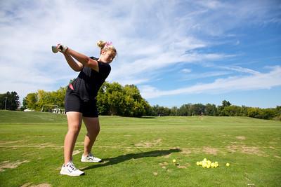 2013, September 17 East Kentwood Girls Golf vs. Grand Haven