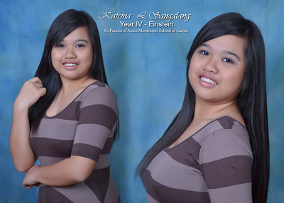 Studio Portraits of SY 2011-2012 HS Graduates