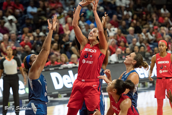 Mystics vs. Minnesota Lynx - August 11, 2019