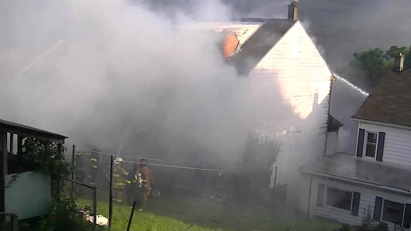 Coal Township House Fire HD Videos 7-4-2013 001.MTS