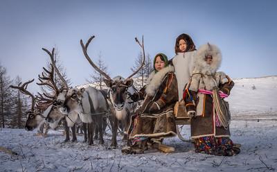 Nenets of the Yamal Peninsula, Russia
