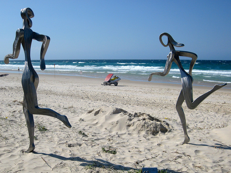 'Beacha', by David Walsh - SWELL Sculpture Festival, Currumbin, http://www.swellsculpture.com.au/  12 September, 2008