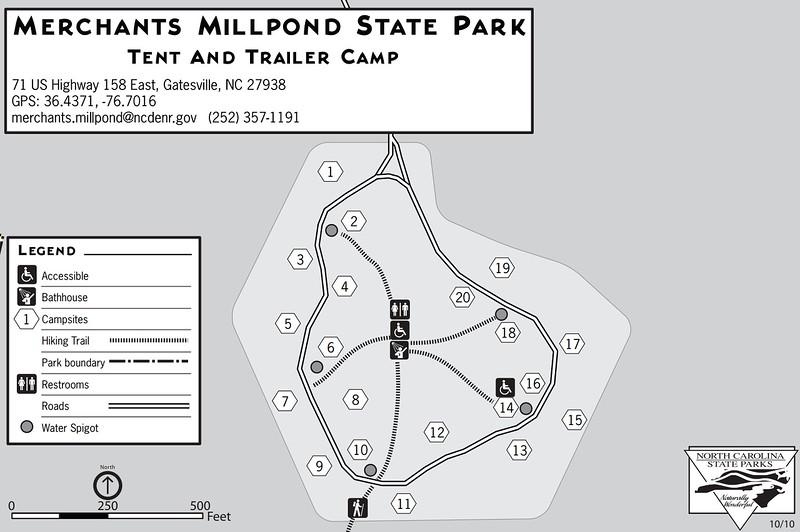 Merchants Millpond State Park (Tent & Trailer Campground)