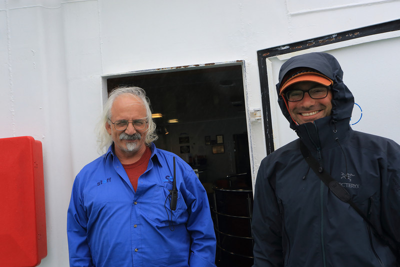 Antarctica - Jan 2013 - Sergey Vavilov Circle Trip, The One Ocean Expedition staff:   Ira Meyer (Photographer) and Aaron Nagler.