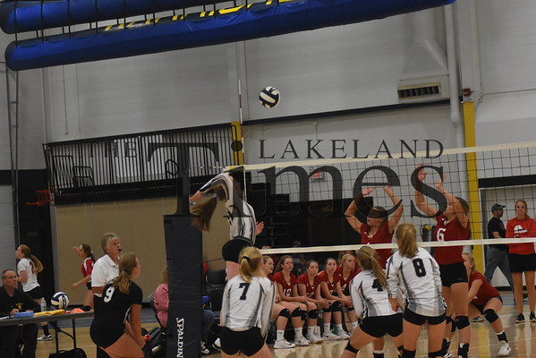 LUHS Volleyball at Wausau West August 28, 2019