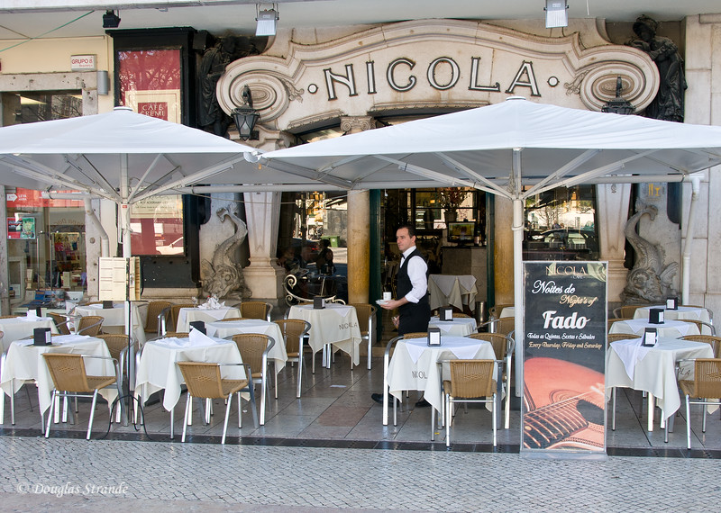 Thur 3/17 in Lisbon: Louise and Doug had an excellent dinner at Nicola