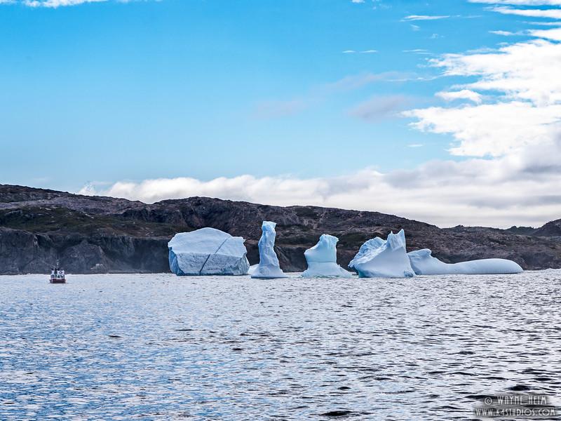 Icebergs 17   Photography by Wayne Heim