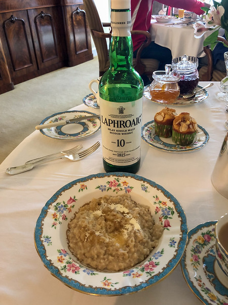 Porridge with Laphroaig