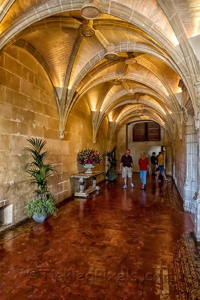 Château de Chenonceau Entry Hallway