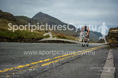 Slateman Classic Triathlon - Bike at Pen y Pass before 10:35