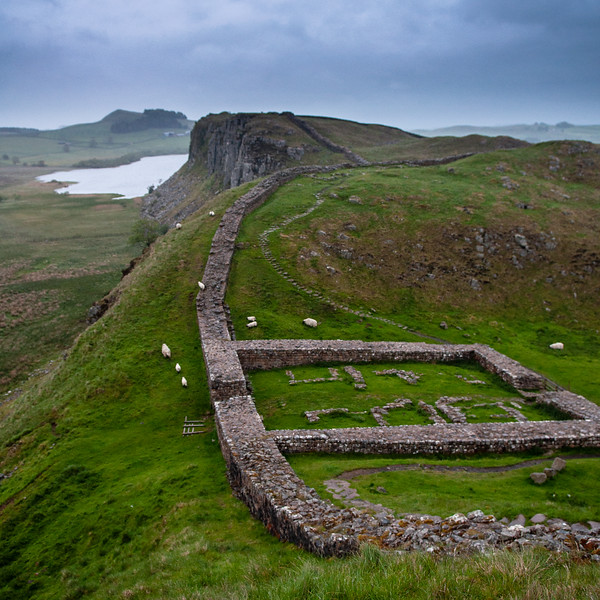 Milecastle 39 on Hadrian's Wall