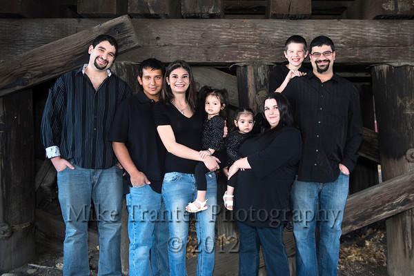 Sawaya Family 2012 Christmas Portrait