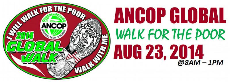 ANCOP Global Walk 2014 - SD&SR
