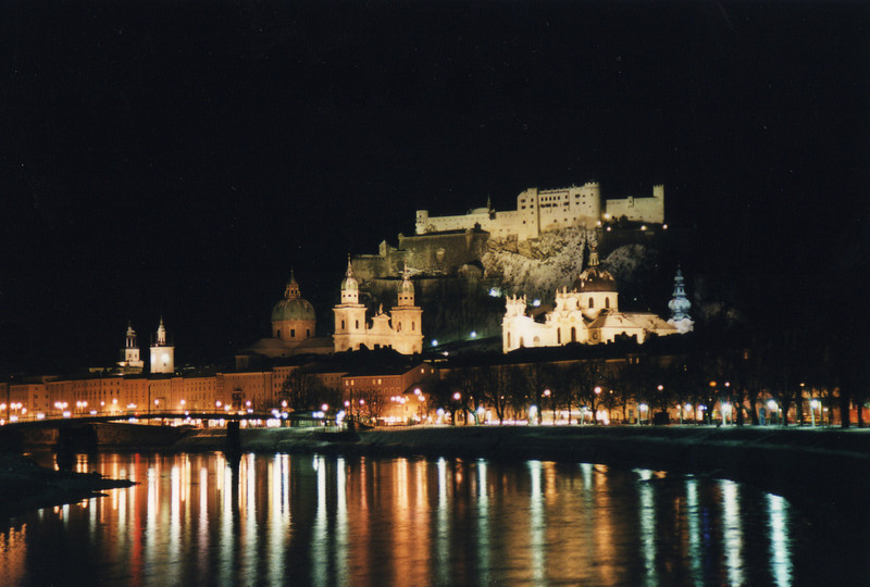 A beautiful night in Salzburg