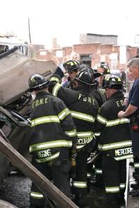 FDNY Training Drill Bronx L51 & E38
